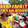Pacote de pousada para o carnaval em Paraty 2020
